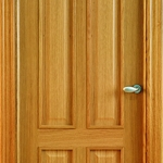 oak classic panel door