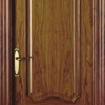 walnut panel classic door