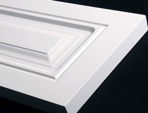 How to clean white internal doors