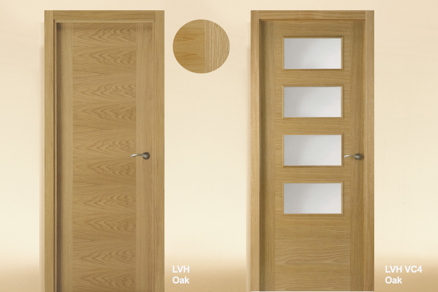 Flush-Interior-Door-Oak-LVH