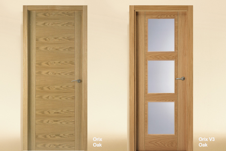 Flush-Interior-Door-Oak-Orix