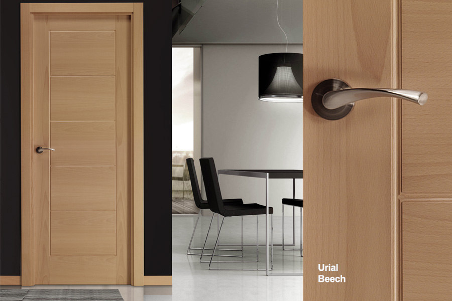 Flush-interior-door-beech