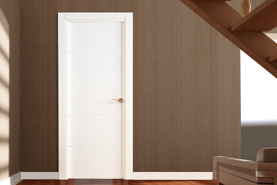white-contemporary-door 404 LP